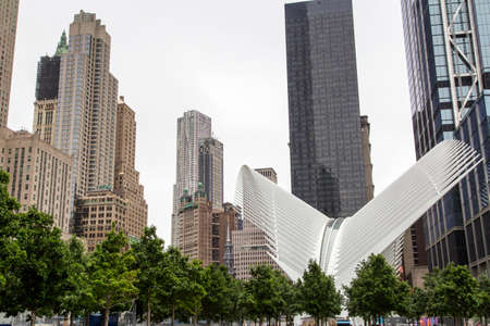 New York, Lower Manhattan and Financial District Stock Photo