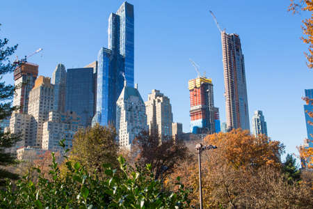 New York, a walk along Central Park
