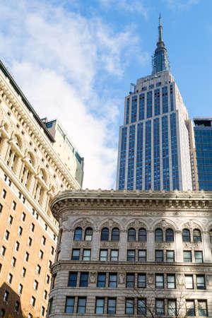 New York city, view of Midtown Manhattan
