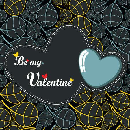 Valentine `s Day-kaart