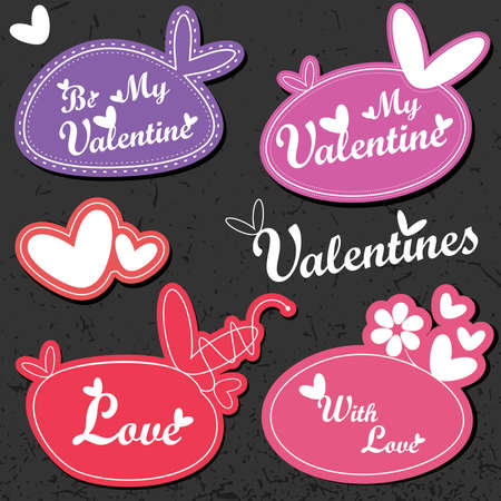 Valentine`s Day card Stock Vector - 11902229