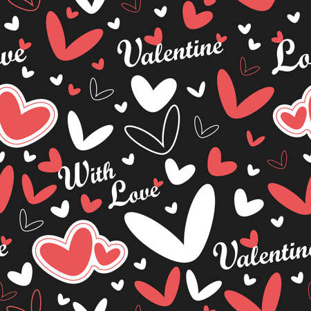 Valentine`s Day seamless