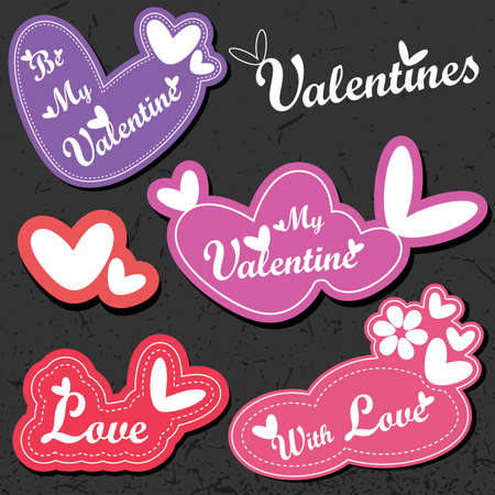 Valentine`s Day card Stock Vector - 11937041