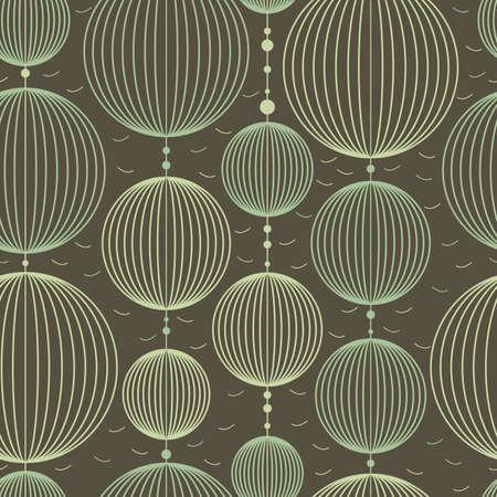 färgglada dekorativa element - sömlösa mönster Illustration