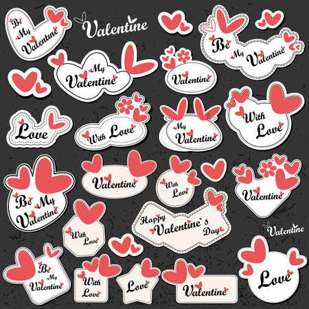 Valentin dagkort Illustration