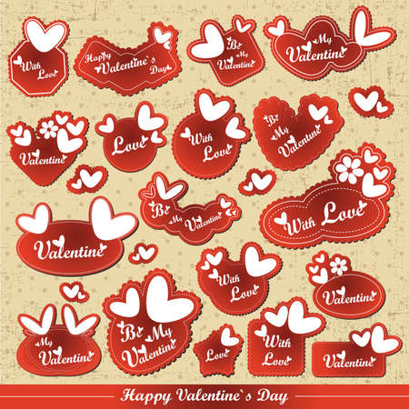 text book: Valentine`s Day card