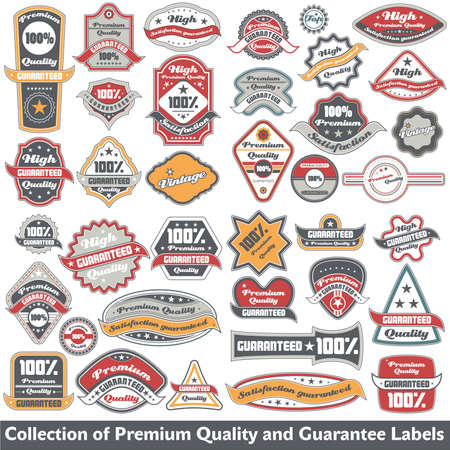 commitments: Premium quality and guarantee label collection