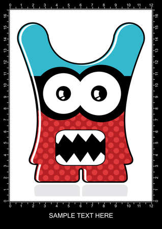Monster Stock Vector - 12839141