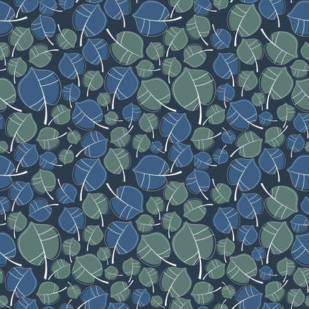 tolerable: Leafs - seamless pattern