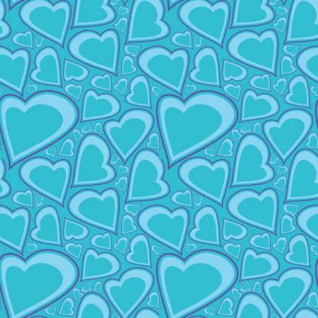 Valentine day - seamless pattern Vector