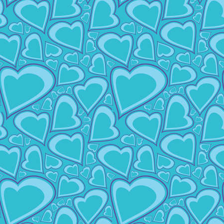 Valentine day - seamless pattern Ilustração