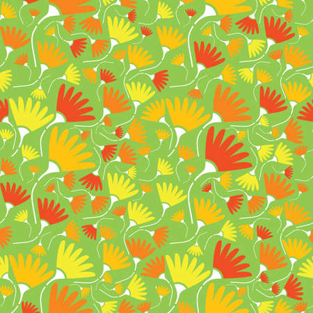 Flowers - seamless pattern Stock Vector - 13800937
