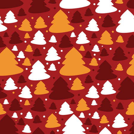 New year - seamless pattern Vector