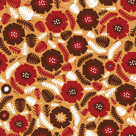 Flowers - seamless pattern Stock Vector - 13801168