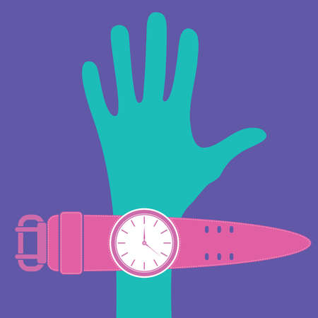 wristband: Hand and watches