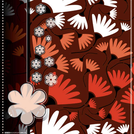 Floral card Stock Vector - 14451315