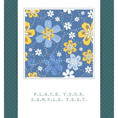 tolerable: Floral card