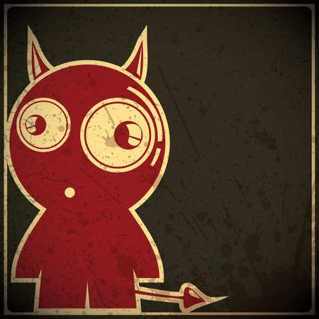 demon: Diabeł Ilustracja