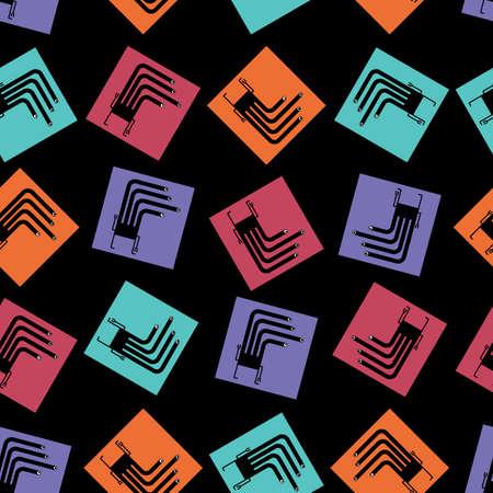 monster - seamless pattern Stock Vector - 15640451