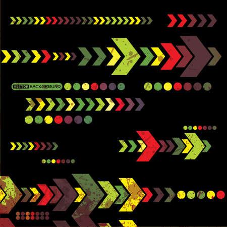 boite a musique: R�sum� grunge background