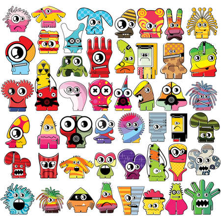 Monsters   Stock Vector - 16233542