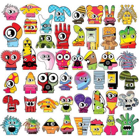Monsters   Stock Vector - 16233542