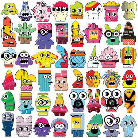 Monsters   Ilustração