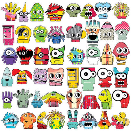alien symbol: Monsters   Illustration