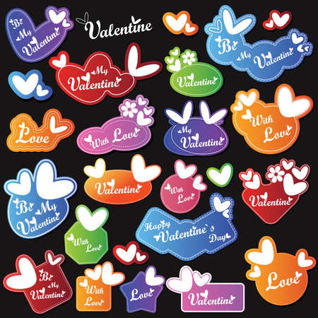 Valentine`s Day card Stock Vector - 16699735