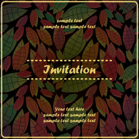Floral invitation Stock Vector - 17203537