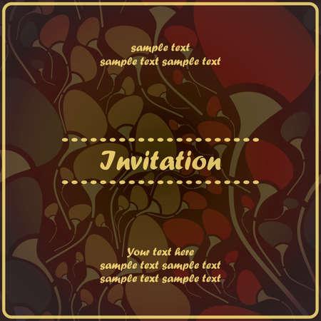 Floral invitation Stock Vector - 17203473