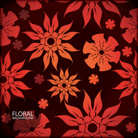 Floral card Stock Vector - 17481743