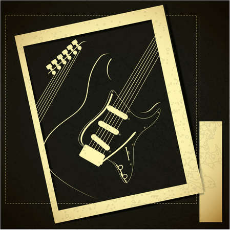Guitar Stock Vector - 17577798