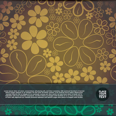 Floral card Stock Vector - 17577747