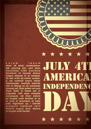 Independence Day of America Stock Vector - 17857374