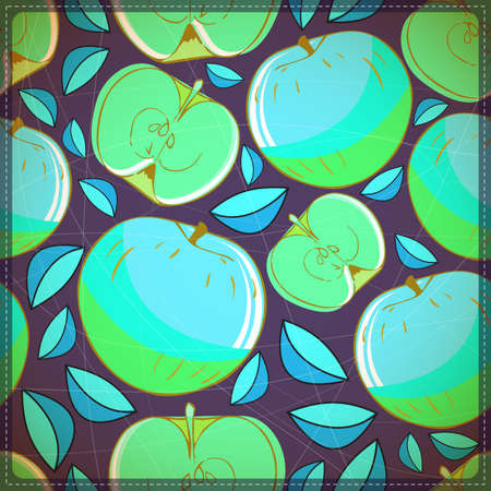 ascorbic: Manzanas Vectores
