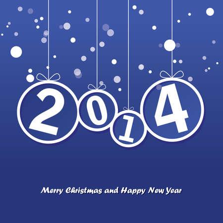 Happy New Year Ilustração