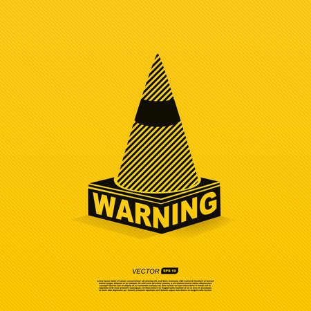 warning signs: warning symbol Illustration