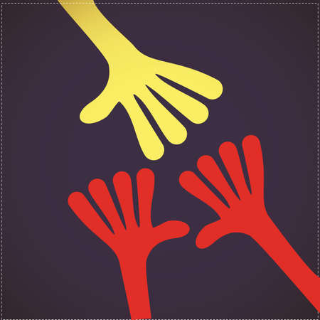 furtherance: Helping Hand Illustration