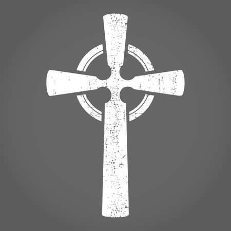 celtic cross: Cross  Vector