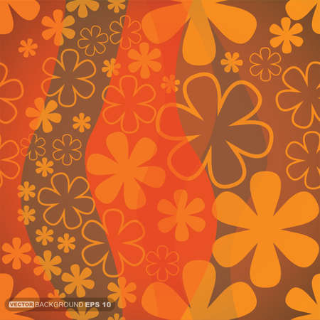 Floral background  vector illustration Stock Vector - 22653268