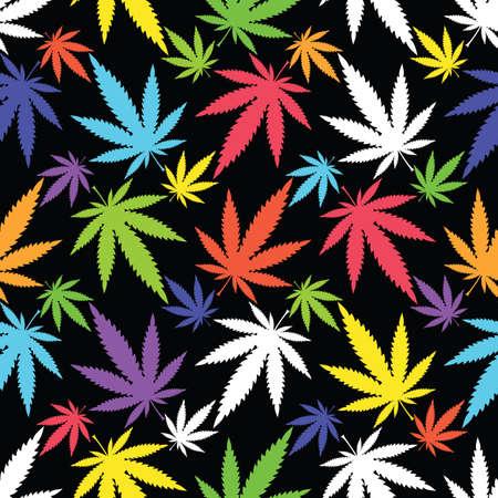 Marijuana leaves Vector