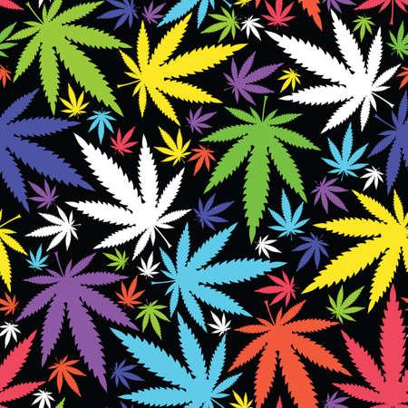 마리화나 잎 일러스트