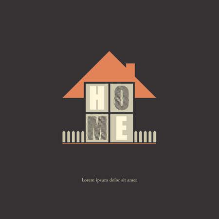 illustratio: Home .vector illustratio