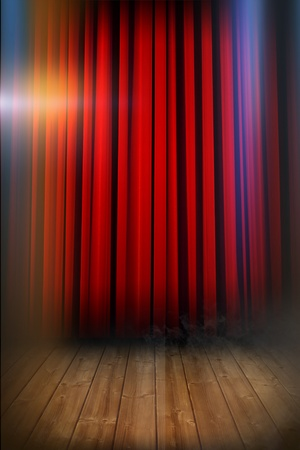 Show Curtains Stock Photos Royalty Free Images