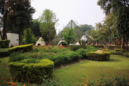 ble: Beautiful garden of Lahore Zoo, Pakistan 24-03-2016