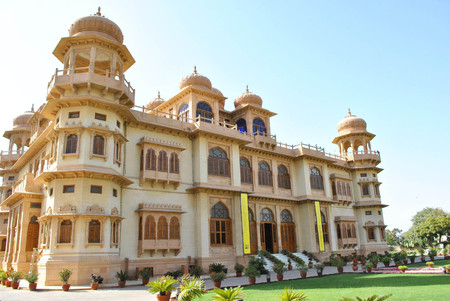 Mohatta Palace - Beautiful Landmark in Clifton Karachi, Pakistan - 06022011 Editorial