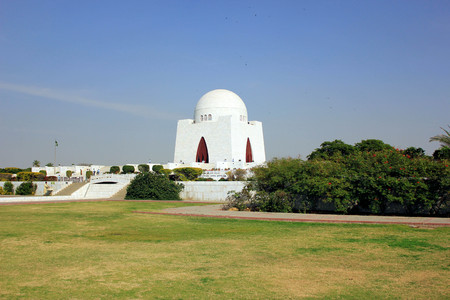 jinnah: Beautiful View of Mazar-e-quaid - Mohammad Ali Jinnah, Karachi Pakistan - 20122012
