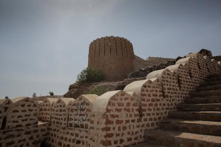 Great Wall Of Ranikot Fort, In Sindh, Pakistan Foto de archivo - 121491101