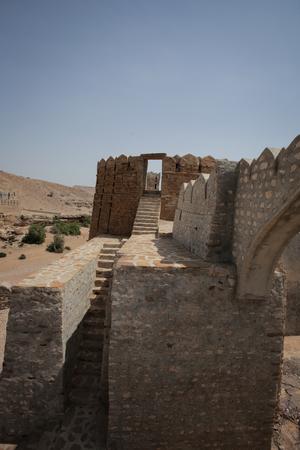 Great Wall Of Ranikot Fort, In Sindh, Pakistan Foto de archivo - 121491105